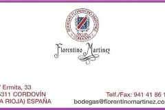 Bodega Florentino Martínez